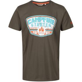 Regatta Cline III t-shirt Heren olijf